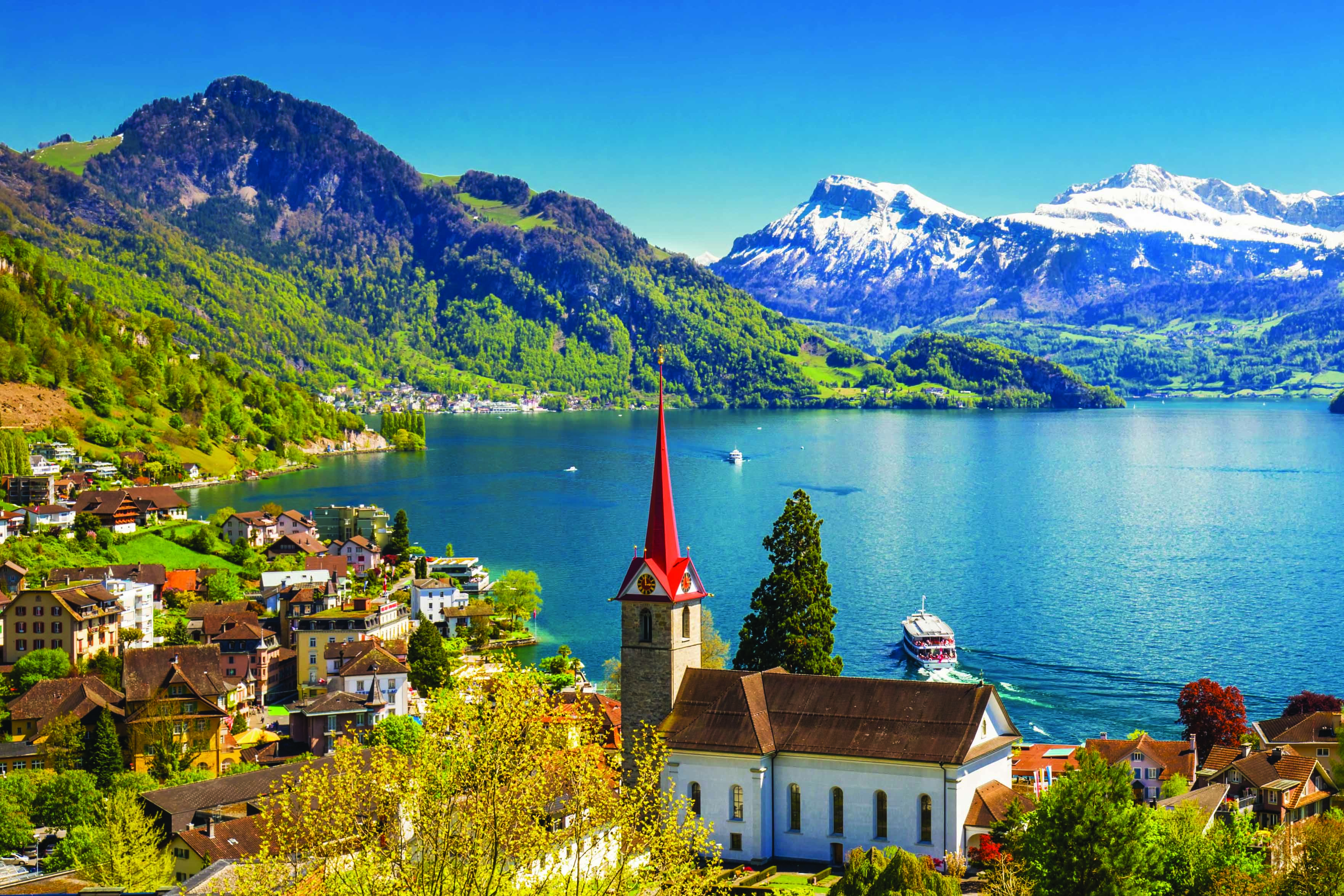 Switzerland Lake Lucerne
