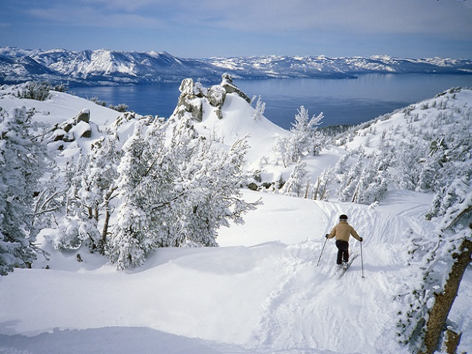 Lake Tahoe, CA skiing